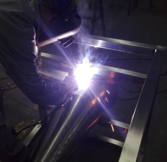 Coded Welders Welding Stainless Steel